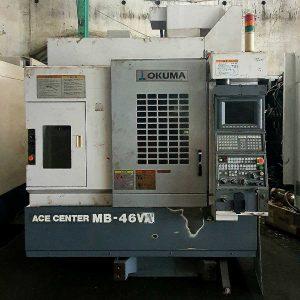 Máy phay CNC cũ Okuma MB46VA
