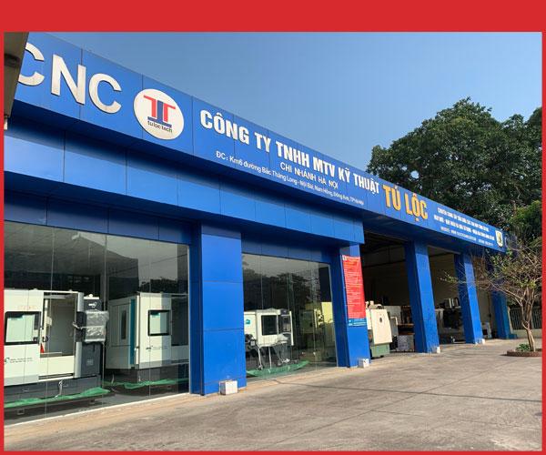 Showroom máy CNC tại Hà Nội của Tuloctech