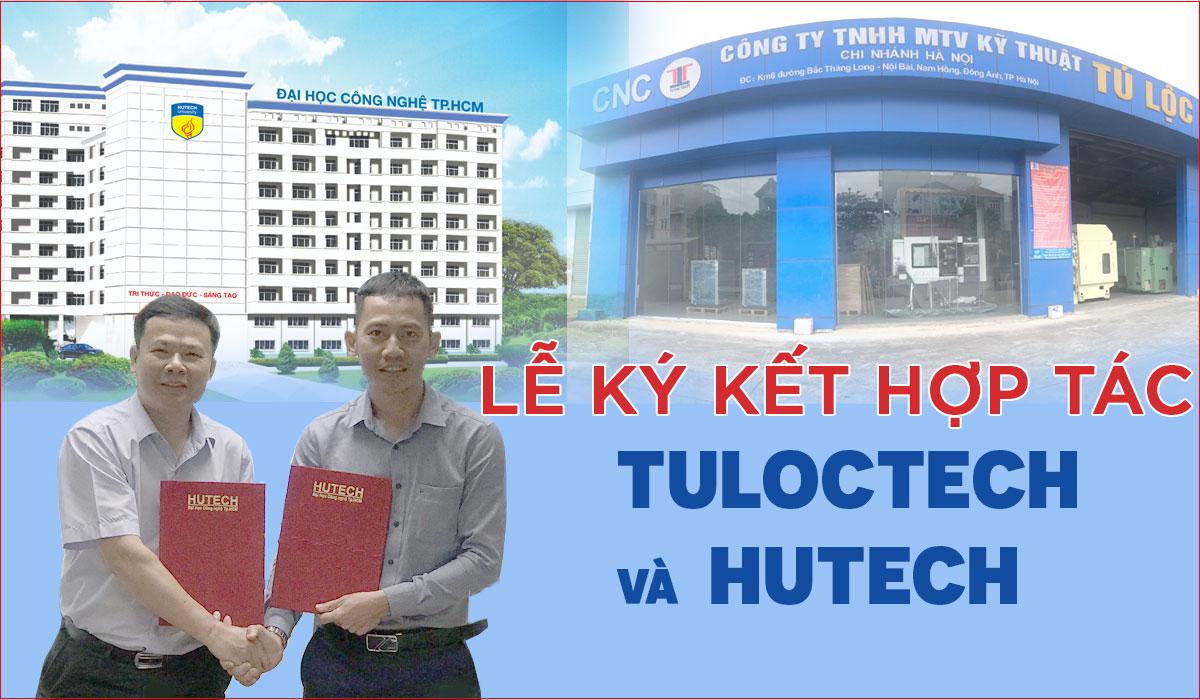 Lễ ký kết giữa Tuloctech và Hutech