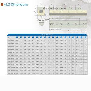 Thông tin sản phẩm eto nhiều hàm kẹp ALG